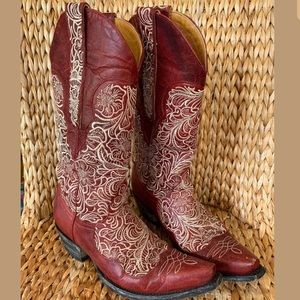❣️SOLD❣️Old Gringo Barn Red Boots 8.5M